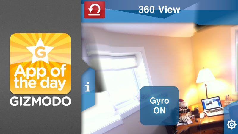 Illustration for article titled App of the Day: 360 Panorama for iPhone