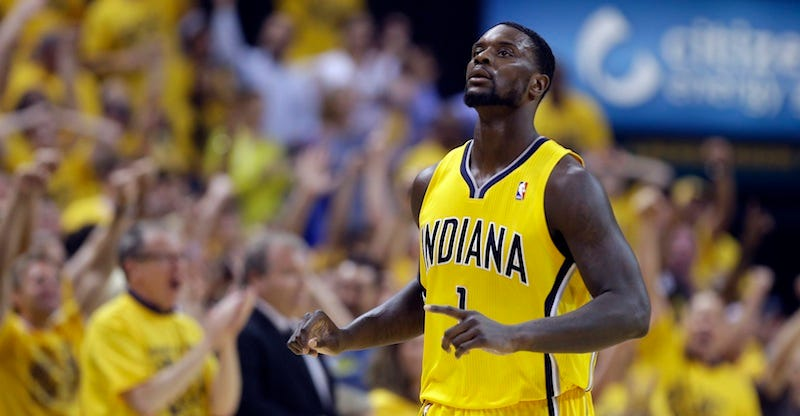 Illustration for article titled Lance Stephenson Signs With Charlotte, And The East Gets More Fun
