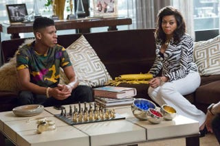 Hakeem (Bryshere Y. Gray) and Cookie (Taraji P. Henson) need to watch their backs.Fox