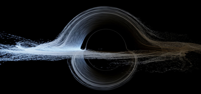 """Illustration for article titled The Truth Behind Interstellar's """"Scientifically Accurate"""" Black Hole"""
