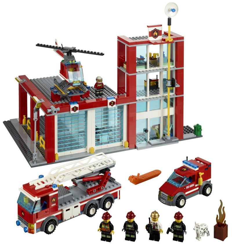 Illustration for article titled Deals: City Fire Station on sale at Amazon