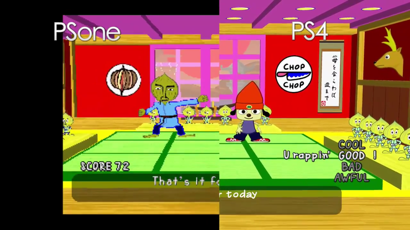 Illustration for article titled Parappa The Rapper Is Looking Really Sharp On PS4