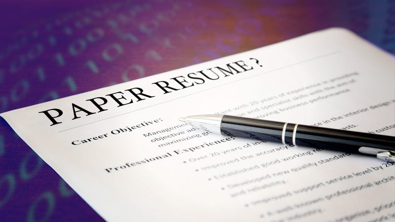 do you still use a paper resume