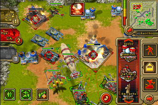 Illustration for article titled Command & Conquer on the iPhone Looks, At Least, Decent From the Screenshots