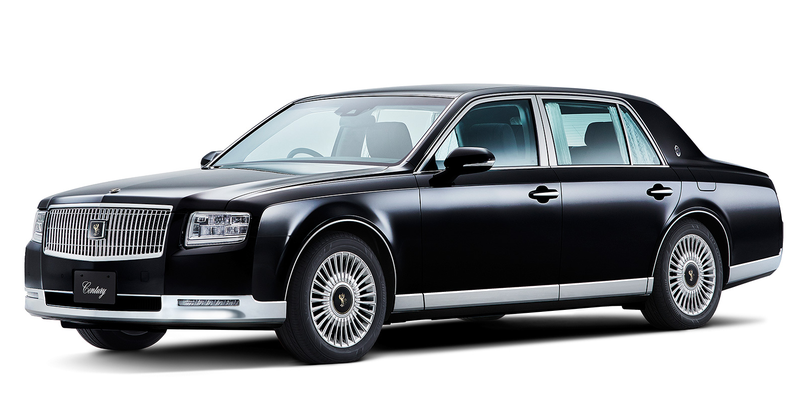 Illustration for article titled The New Toyota Century Rightly Costs As Much As Two Lexuses