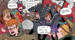 Illustration for article titled When Role-Playing Gets Real