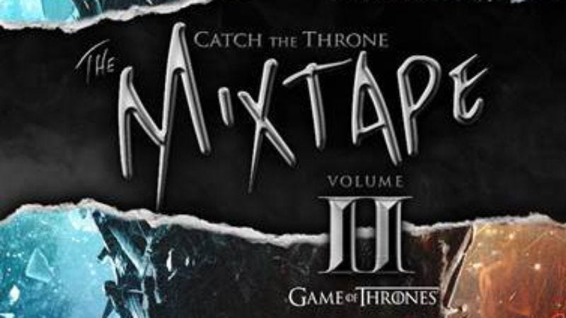 Illustration for article titled The artist list for the second Game Of Thrones mixtape is here