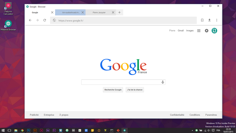 Surf the Web in Material Design with Liri Browser