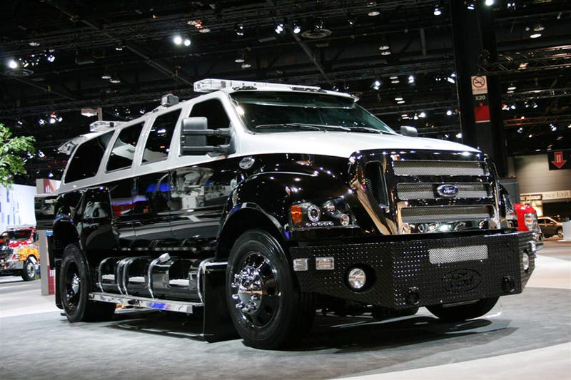 Why: The New Scope Truck Ford F 650 Super Duty Is Very, Very Ridiculous.  Between The Zombie Smashing Diamond Plate Front Bumper, ... Amazing Pictures
