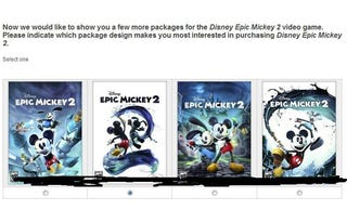 Illustration for article titled Epic Mickey 2 Rumors Now Peg It for Fall 2012 Release