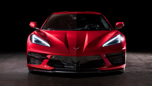The 2020 Chevrolet C8 Corvette Has Poor Forward Visibility: Data