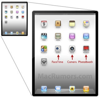 The Next iPad Will Likely Have Camera, FaceTime, and