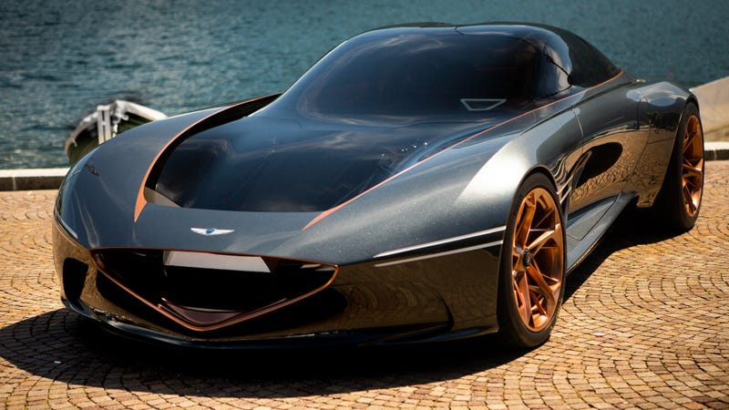 Illustration for article titled Genesis Is Thinking About Building The Gorgeous Essentia GT Concept