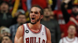 Illustration for article titled Joakim Noah Got Into A Shouting Match With Wizards' Security
