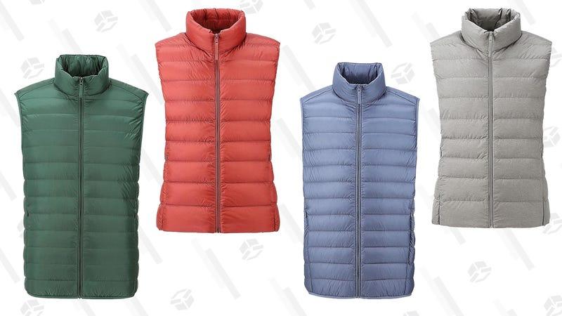 Men's and Women's Ultra Light Down Vest | Uniqlo