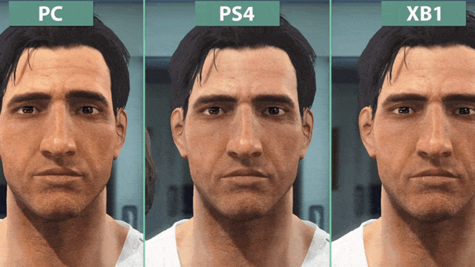 Fallout 4 PC Vs PS4 Xbox One
