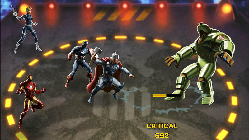 Dammit, Avengers Alliance Is On iOS Now