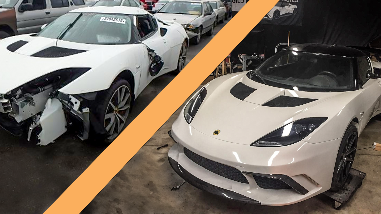 How To Turn A Totaled Lotus Evora Into The World S Best
