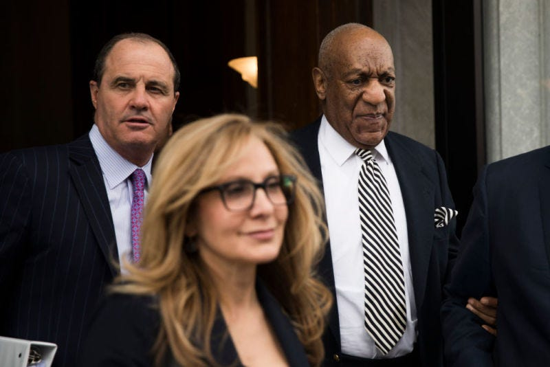 Bill Cosby (right) (Dominick Reuter/AFP/Getty Images)