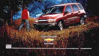 Illustration for article titled Chevy Tracker: It's A Whore.