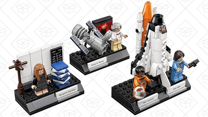 Set de LEGO dedicado a las mujeres de la NASA | $20 | Amazon