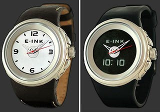 Illustration for article titled PHOSPHOR Ana-Digi Watch Features E-Ink Display