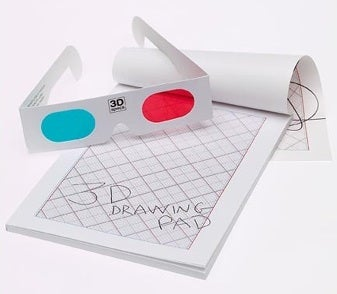 Illustration for article titled 3D Drawing Pad Makes Your Dirty Doodles Come Alive