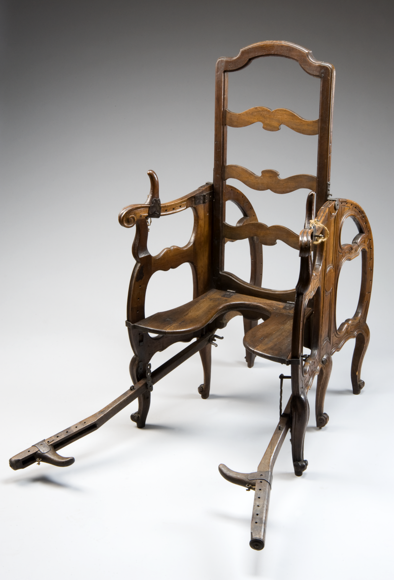 Antique birthing chair - This Adjustable Chair Let 18th Century Women Give Birth In Something Approaching Comfort