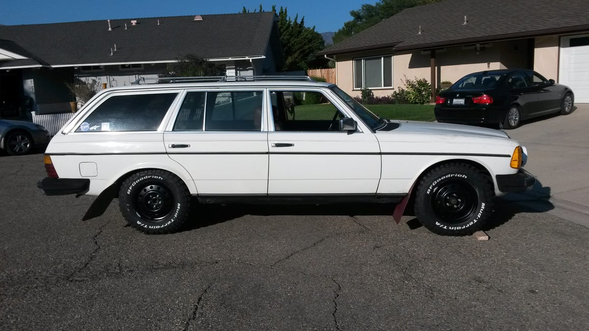 How To Turn An Old Diesel Mercedes Into The Ultimate Off Roading Wagon