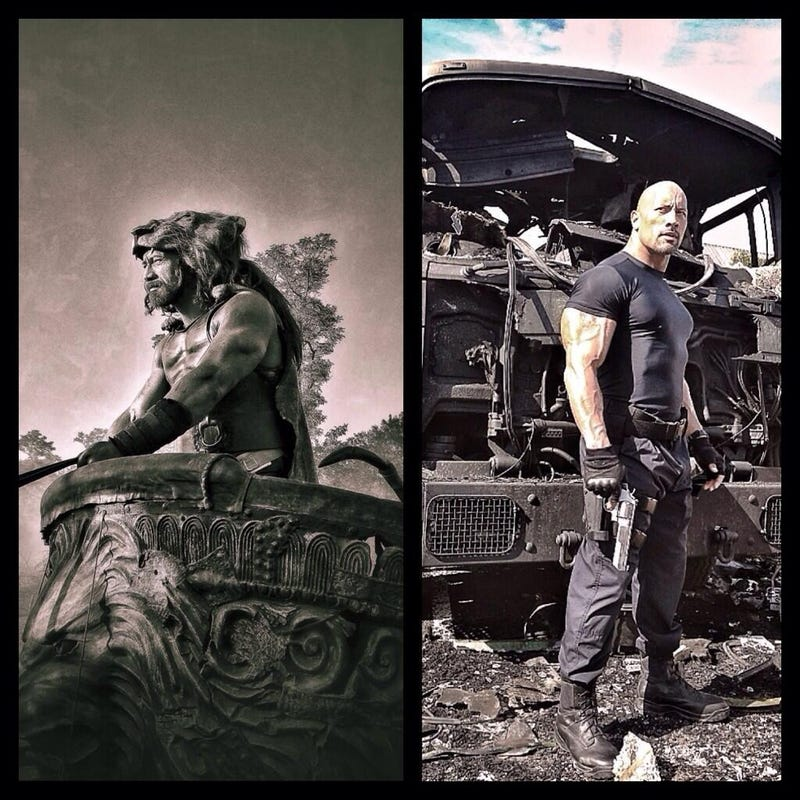 Illustration for article titled The Rock's Hercules movie may be a gift from the gods