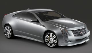 Illustration for article titled Cadillac CTS Coupe Concept Press Photos Finally Arrive