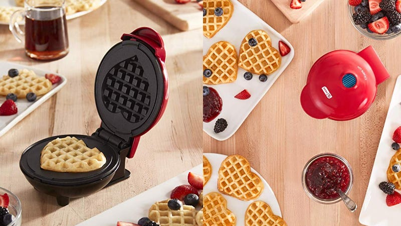 Dash Mini Heart Maker Waffle Iron | $12 | Amazon