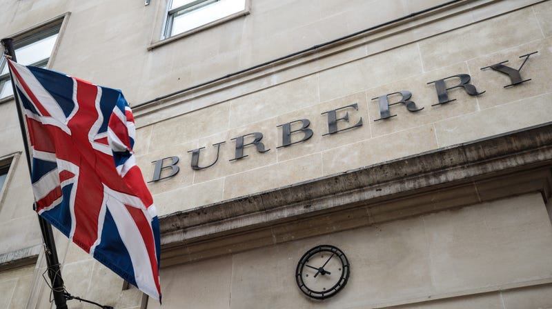 The Burberry store in Mayfair on April 26, 2018 in London, England.