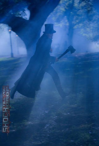 Illustration for article titled Abraham Lincoln: Vampire Hunter New Photo