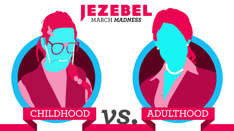 Illustration for article titled It's Your Final Chance to Vote in March Madness: Childhood vs. Adulthood