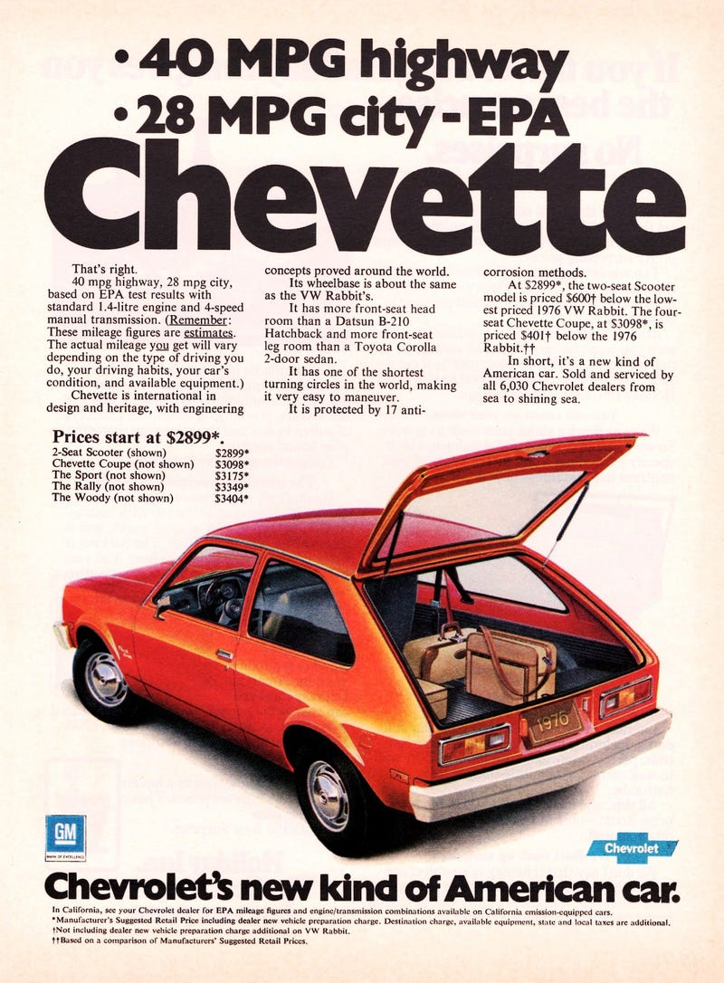 You won t guess how much horsepower a 1976 chevrolet chevette makes in 2016
