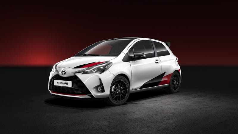 Illustration for article titled The 2018 Toyota Yaris GRMN Gets Double The Horsepower From A Supercharged Four