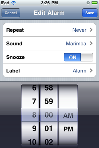 Illustration for article titled Reset Your iOS Alarms for Daylight Saving Time