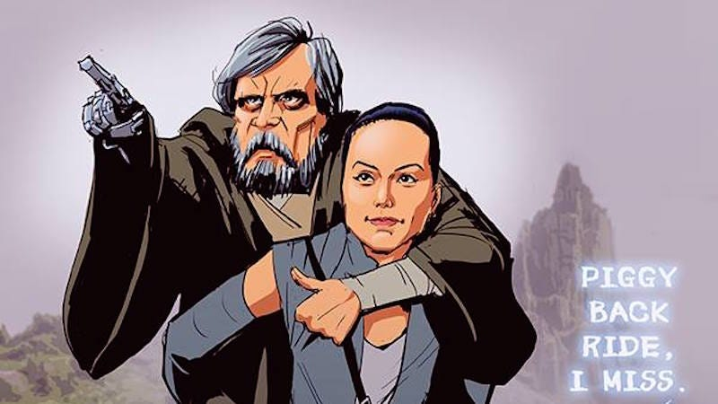 Illustration for article titled An Artist's Rendering of the Only Scene Star Wars: Episode VIII Must Have