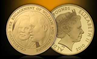 Illustration for article titled Official Kate Middleton Commemorative Coin Looks Nothing Like Kate Middleton