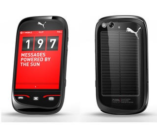 Illustration for article titled Puma Phone: Sporty Yet Styled, From The Solar Panel To Puma OS