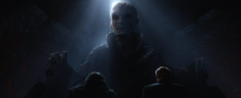 Illustration for article titled The 13 Most Nonsensical Theories About The Identity of Supreme Leader Snoke