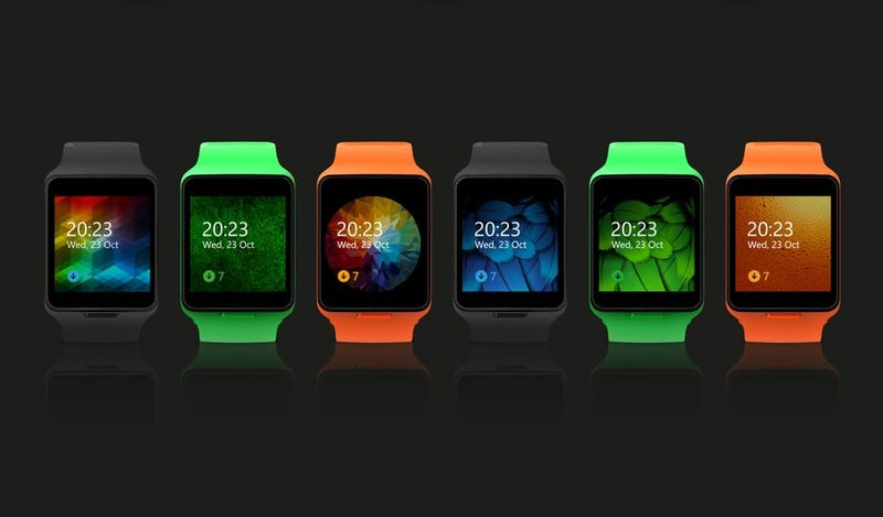 Illustration for article titled Here's The Microsoft Smartwatch You'll Never Be Able To Buy