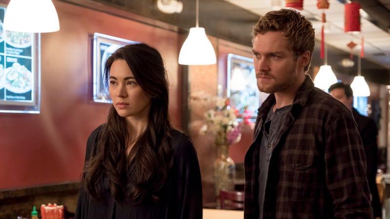 Jessica Henwick and Finn Jones star in Marvel's Iron Fist