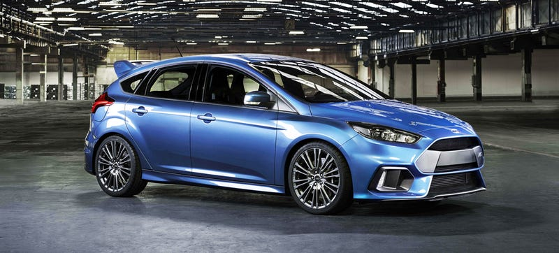 2016 Ford Focus Rs This Is Your 320 Hp Awd Monster Hatch From Ford