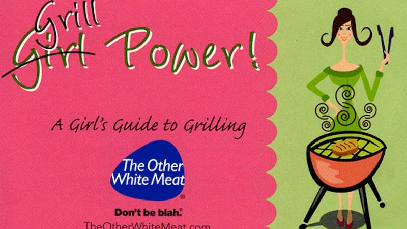 Illustration for article titled Pork Industry Booklet Will Teach Silly Ladies All About Grilling Pork... Sexily!