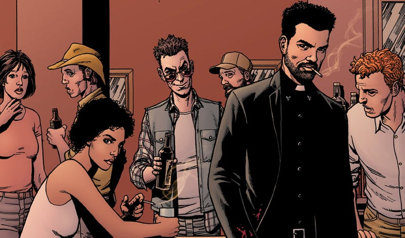 The Cast Of Preacher On Bringing The Comic To Tv