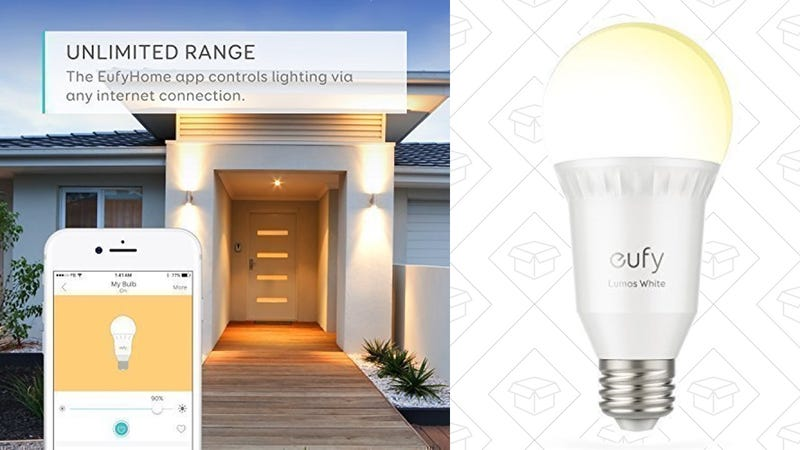 2-Pack Eufy Lumos Smart Bulb | $26 | Amazon