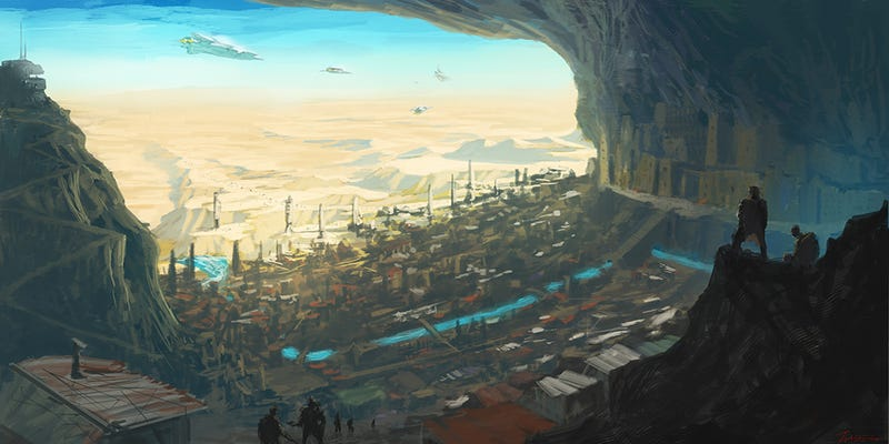 Illustration for article titled One hidden cave city held the last of our hope
