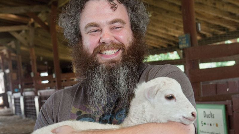 Illustration for article titled Patrick Rothfuss on his charitable fans, priorities, and kissing a llama